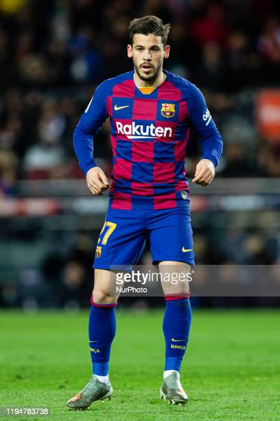27 Carles Perez from Spain of FC Barcelona during La Liga match between FC Barcelona and Granada CF at Camp Nou on January 19 2020 in Barcelona Spain