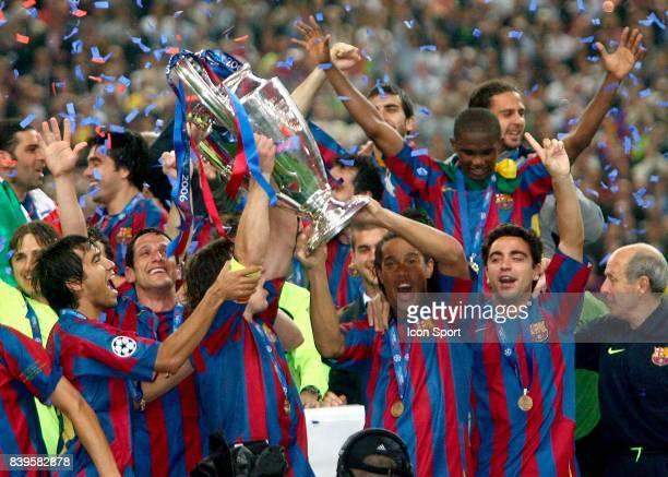 Carles PUYOL Fc Barcelone / Arsenal Finale de la Ligue des Champions Stade de France Paris