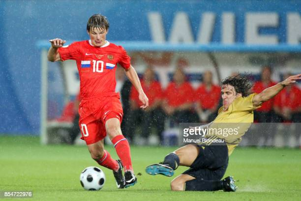 ARSHAVIN / Carles PUYOL Espagne / Russie 1/2 Finale Euro 2008 Vienne