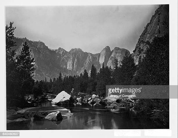 Carleton Emmons Watkins photographed in the Yosemite Valley during the 1860s His images helped to convince Abraham Lincoln to protect the area...