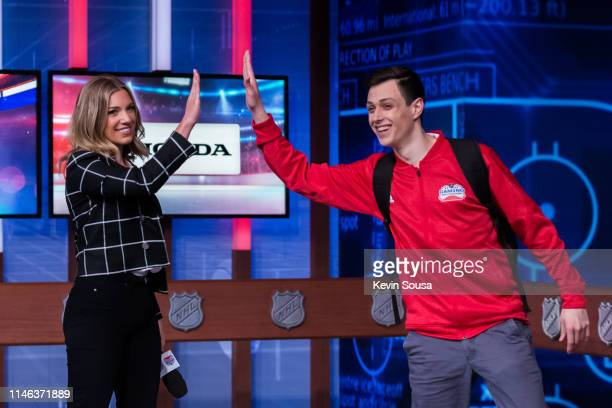 Carley Johnston during the 2019 NHL Gaming World Championship Canadian Regional Finals at the Sportsnet Studio on May 25 2019 in Toronto Ontario...