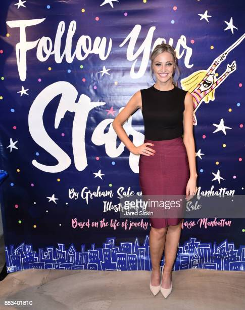 Carley Shimkus attends Follow Your Star Book Launch at 800 B Fifth Avenue on November 30 2017 in New York City