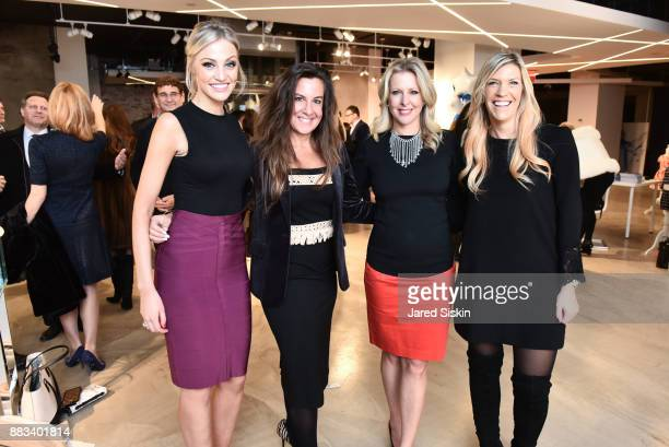 Carley Shimkus Rhonda Vetere Cheryl Casone and Jody Alexander attend Follow Your Star Book Launch at 800 B Fifth Avenue on November 30 2017 in New...