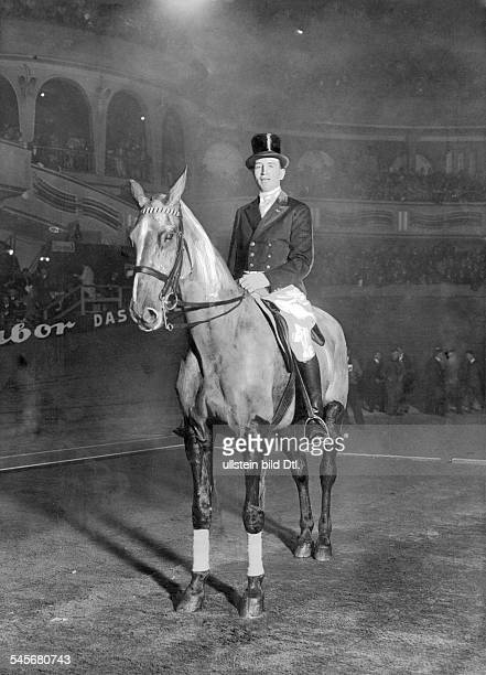 CarlFriedrich Freiherr von Langen Rider Germany at the Berlin Sports Palace 1928