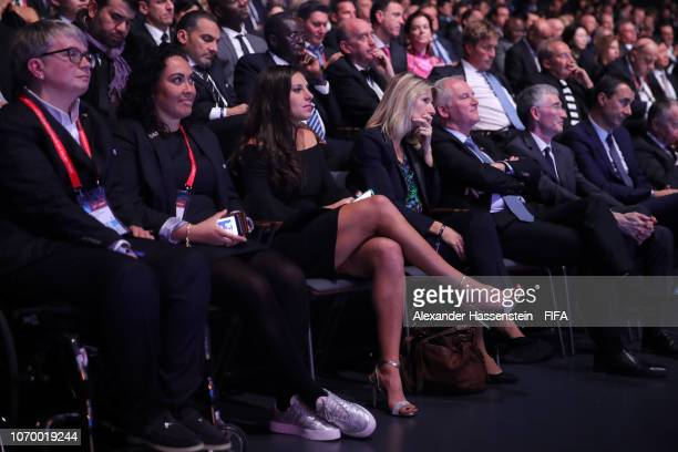 Carli Lloyd of the United States looks on during the FIFA Women's World Cup France 2019 Draw at La Seine Musicale on December 8 2018 in Paris France