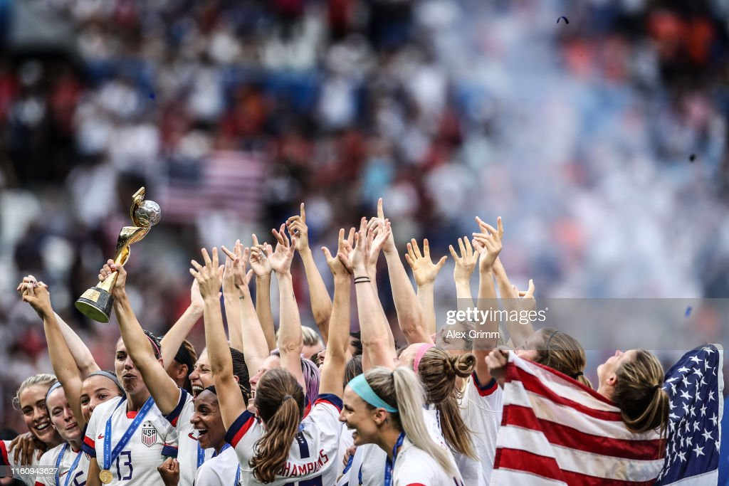 United States of America v Netherlands : Final - 2019 FIFA Women's World Cup France : News Photo