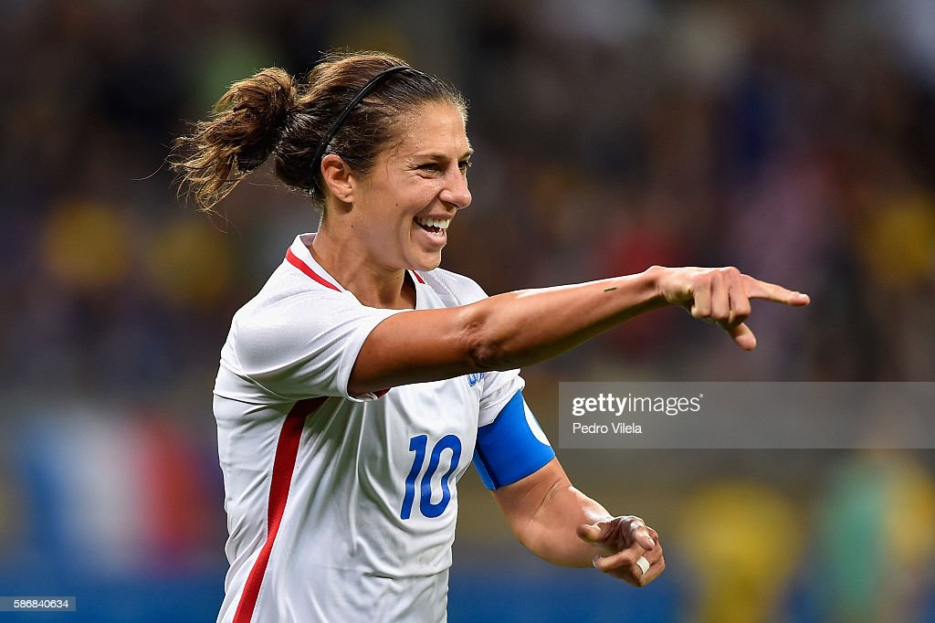 USA v France: Women's Football - Olympics: Day 1