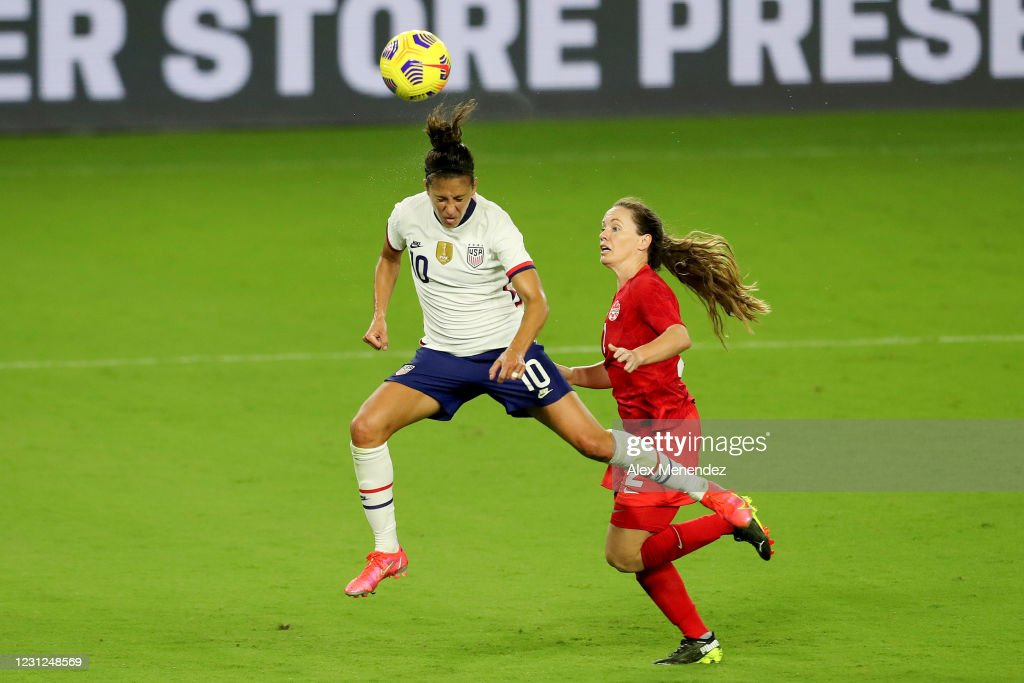 2021 SheBelieves Cup - United States v Canada : News Photo