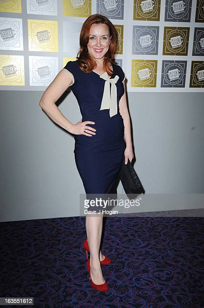 Carli Norris attends the TRIC Awards 2013 at The Grosvenor House Hotel on March 12 2013 in London England