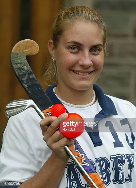 Carlie Weppler RB01 10/11/02 Carlie Weppler of Loretto Abbey a good golfer and field hockey player