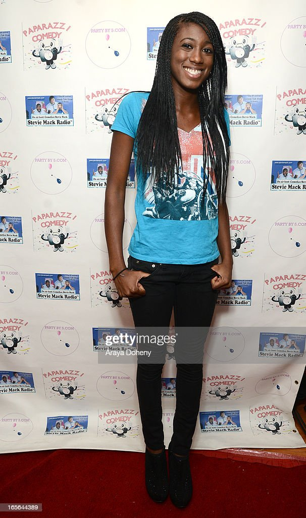 Carlina Rebeiro attends the 3rd Annual Paparazzi Comedy Awards Supporting Autism Awareness on April 4, 2013 in Los Angeles, California.