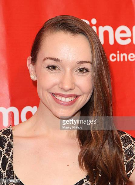 Carline Barry attends Cinemagic's Los Angeles Showcase and sneak preview of 'Delicate Things' at Fairmont Miramar Hotel on March 10 2016 in Santa...