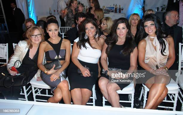 Carline Manzo Melissa Gorga Teresa Giudice Kathy Wakile and Jacqueline Laurita attend A Night Under The Stars Benefiting Juvenile Diabetes Research...