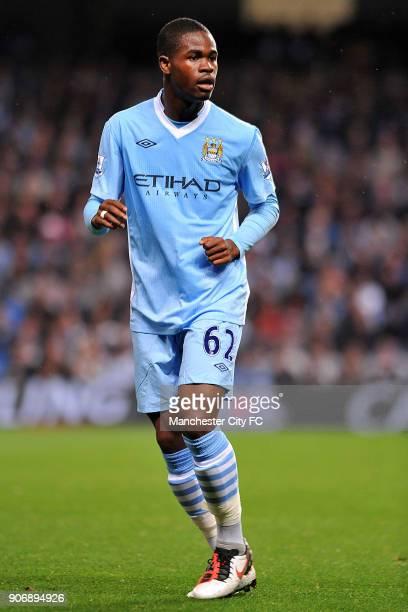 Carling Cup Third Round Manchester City v Birmingham City Etihad Stadium Manchester City's Abdul Razak