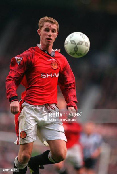 Carling Premiership Football -, Manchester United v Sheffield Wednesday, Nicky Butt of United.