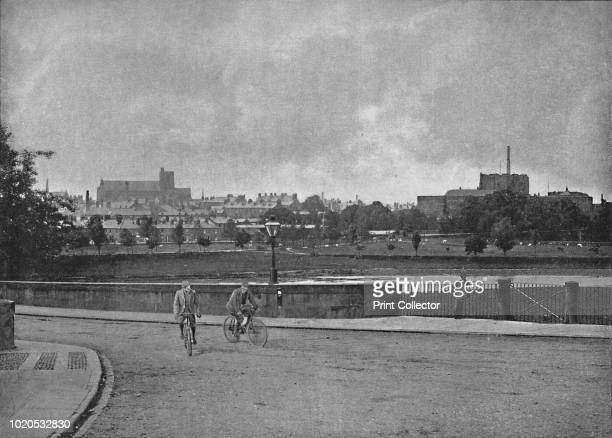 From The North' circa 1896 From Pictorial England and Wales [Cassell and Company Limited London Paris Melbourne circa 1896] Artist Scott Sons