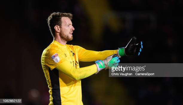 Carlisle United's Adam Collin during the Sky Bet League Two match between Lincoln City and Carlisle United at Sincil Bank Stadium on October 23 2018...