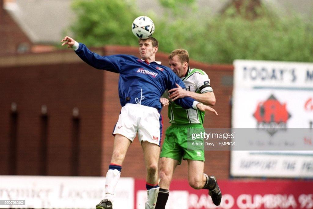 8f25cd7d54eb Soccer - Nationwide League Division Three - Carlisle United v Plymouth  Argyle   News Photo
