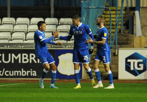 GBR: Carlisle United v Blackpool - EFL Leasing.com Trophy