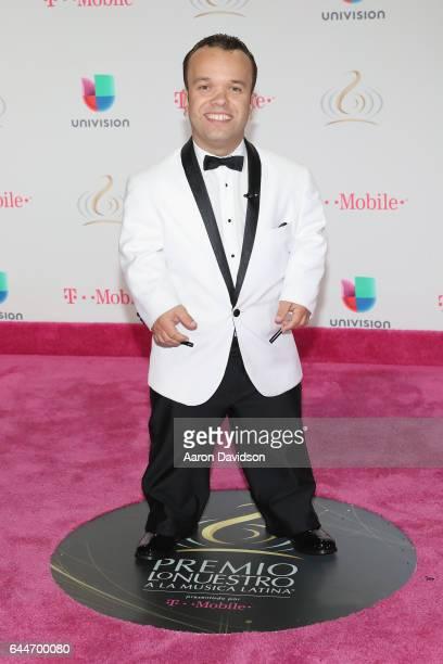 Carlitos from El Gordo y La Flaca attends Univision's 29th Edition of Premio Lo Nuestro A La Musica Latina at the American Airlines Arena on February...