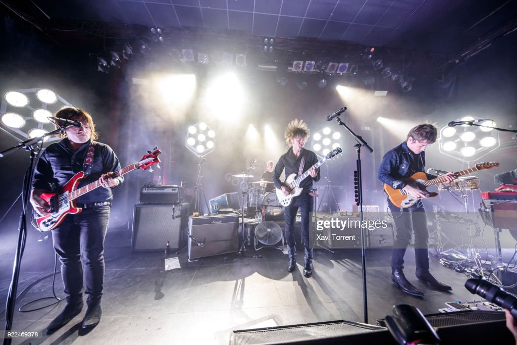 Mando Diao Perform in Concert in Barcelona : News Photo