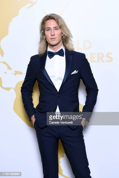 Carlo Alberto Maccan Romanoff attends theInaugural 'World Bloggers Awards' during the 72nd annual Cannes Film Festival on May 24, 2019 in Cannes,...