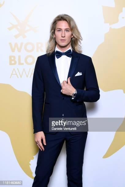 Carlo Alberto Maccan Romanoff attends theInaugural 'World Bloggers Awards' during the 72nd annual Cannes Film Festival on May 24 2019 in Cannes...