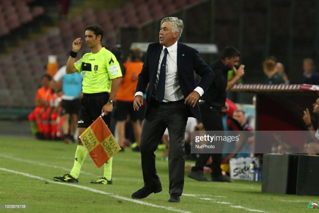 SSC Napoli v AC Milan - Serie A : News Photo