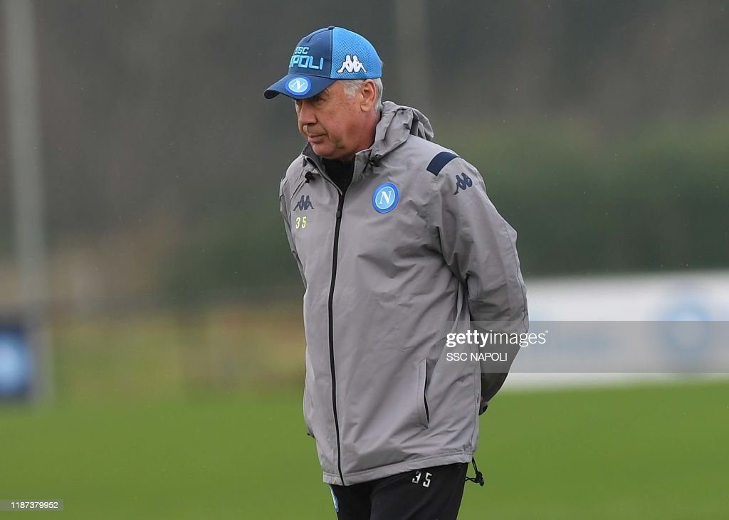 SSC Napoli Training Session & Press Conference : News Photo