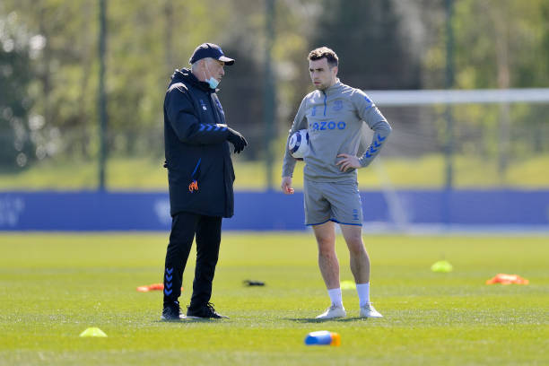 GBR: Everton Training Session