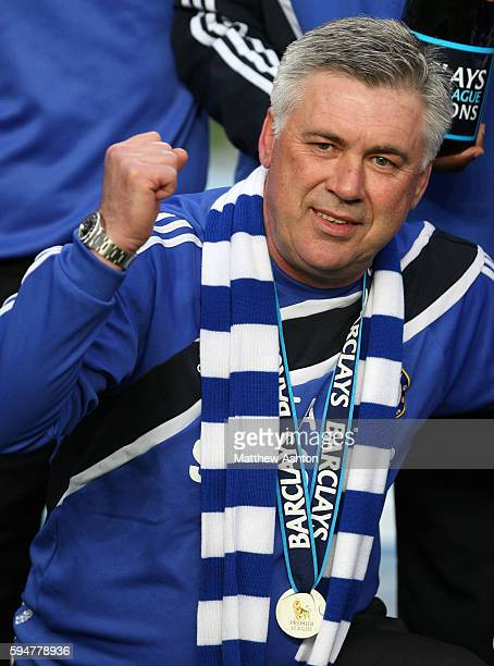 Carlo Ancelotti the head coach / manager of Chelsea