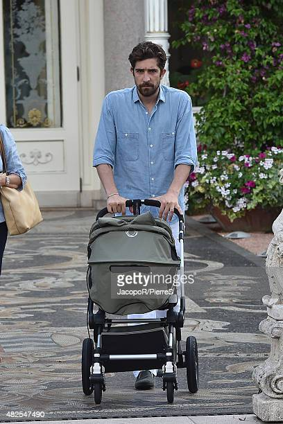 Carlo Borromeo is seen on July 31 2015 in Stresa Italy