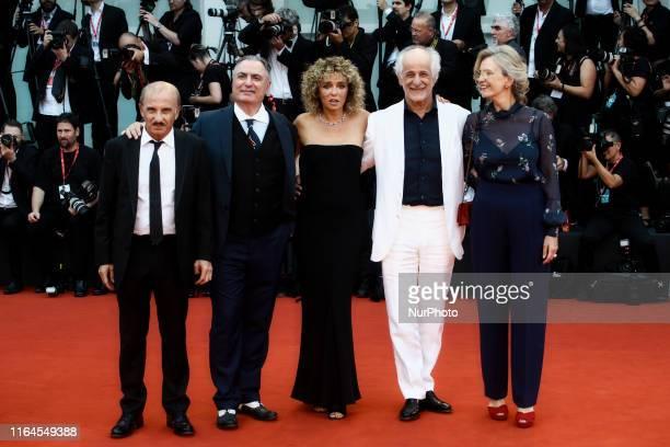"""Carlo Buccirosso, Igor Tuveri, Valeria Golino, Toni Servillo and Manuela Lamanna attend the Opening Ceremony and the """"La Vrit"""" screening..."""