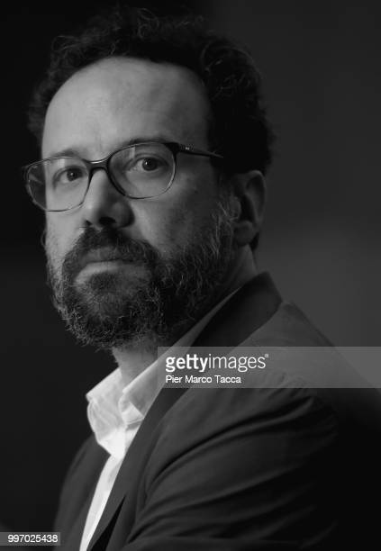 Carlo Chatrian Artistic Director of the Festival of the film Locarno attends the 2018 Locarno Film Festival Press Conference at Centro Svizzero on...