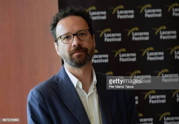 Carlo Chatrian Artistic Director of the Festival of the film Locarno attends the 2018 Locarno Film Festival Press Conference at Centro Svizzero on...