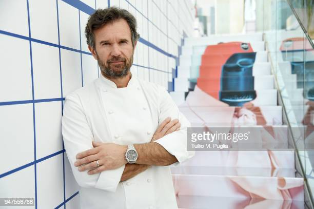 Carlo Cracco attends Pop! Brunch by Carlo Cracco on April 17, 2018 in Milan, Italy.