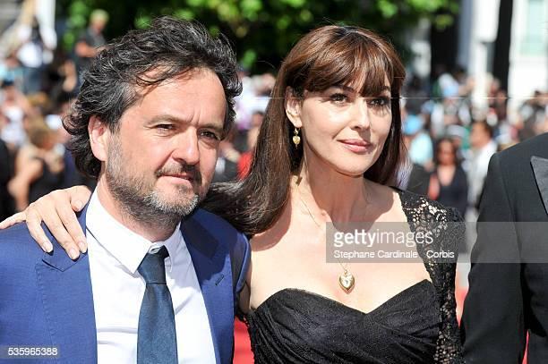 Carlo CrestoDina and Monica Bellucci at the Le Meraviglie Premiere during the 67th Cannes Film Festival