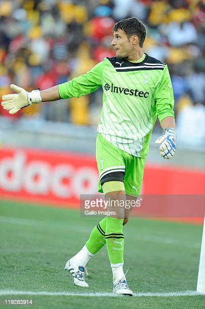 Carlo Cudicini during the 2011 Vodacom Challenge match between Kaizer Chiefs and Tottenham Hotspur from Peter Mokaba Stadium on July 16 2011 in...