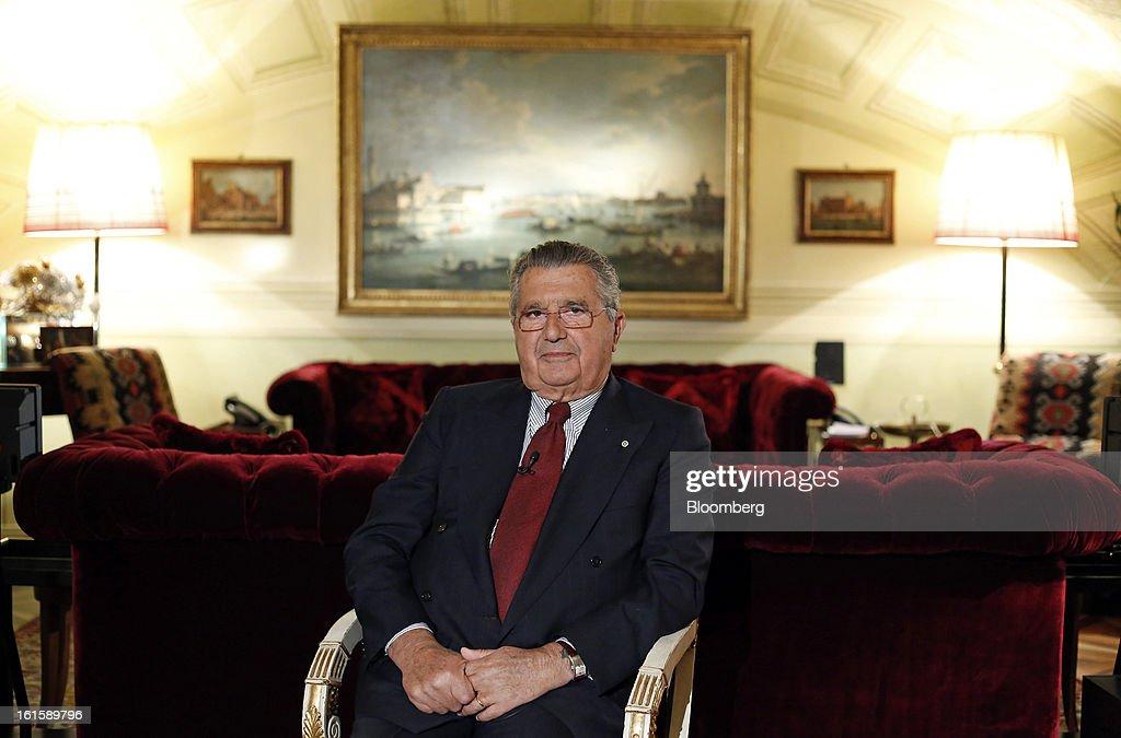 Interview with CIR SpA Honorary Chairman Carlo De Benedetti : Foto di attualità