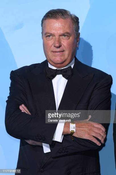 Carlo di Borbone attends the Gala for the Global Ocean hosted by H.S.H. Prince Albert II of Monaco at Opera of Monte-Carlo on September 26, 2019 in...