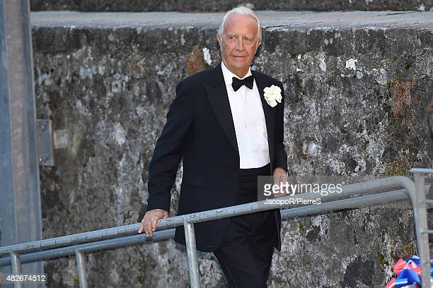 Carlo Ferdinando Borromeo is seen on August 1 2015 in ANGERA Italy