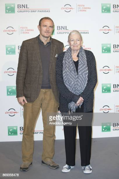 Carlo Gabriel Nero and actress Vanessa Redgrave attend the photocall for a Close Encounters during the 12th Film Fest of Rome at Auditorium Parco...