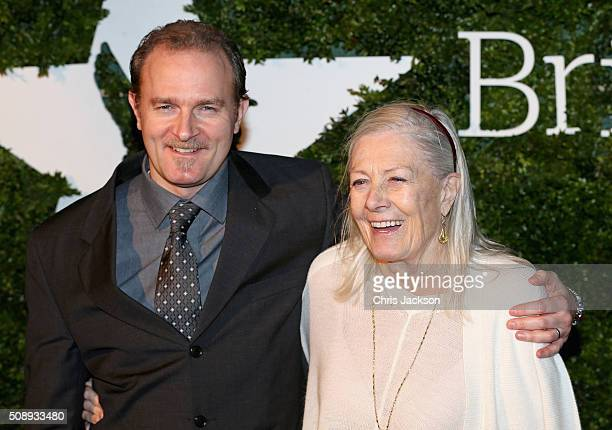 Carlo Gabriel Nero and Vanessa Redgrave attend the London Evening Standard British Film Awards at Television Centre on February 7, 2016 in London,...