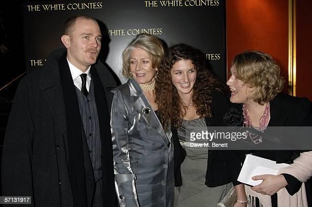 """Carlo Gabriel Nero, Vanessa Redgrave, Daisy Bevan and Mrs Carlo Gabriel Nero arrive arrive at the UK Premiere of """"The White Countess"""" at the Curzon..."""