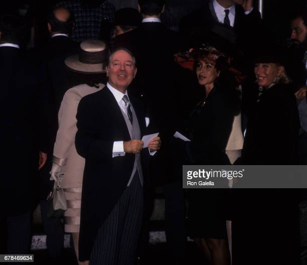 Carlo Giovanelli attends Alexandra MillerAlex von Furstenberg Wedding Ceremony on October 28 1995 at St Ignatius Loyola Church in New York City