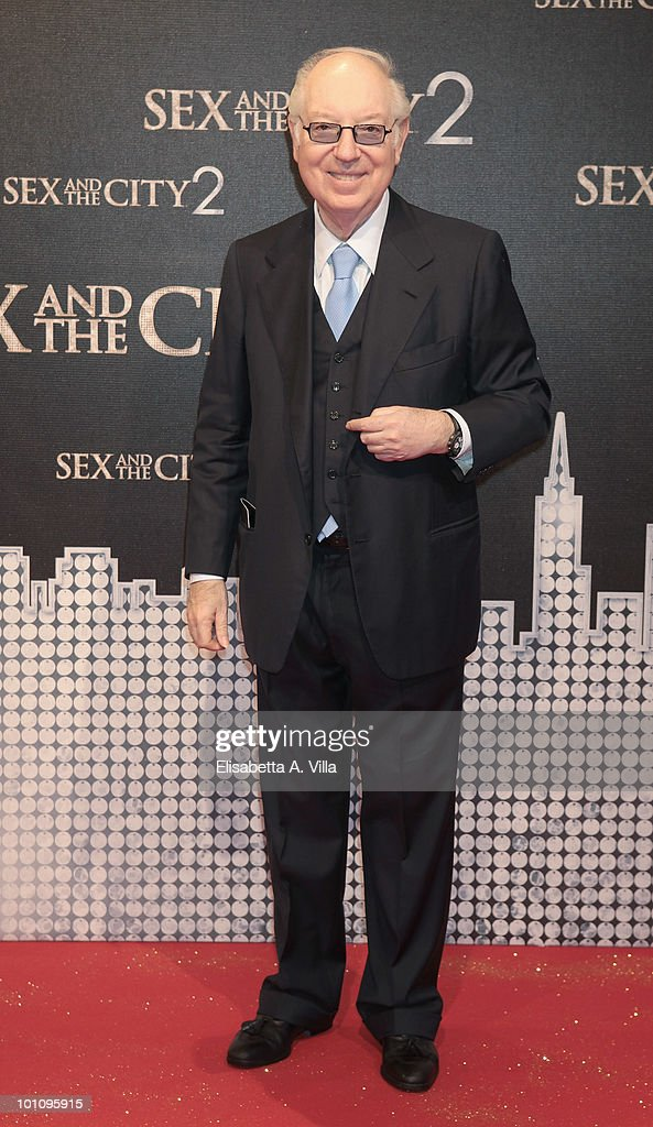Carlo Giovannelli attends 'Sex & The City 2' premiere at Warner Moderno Cinema on May 27, 2010 in Rome, Italy.