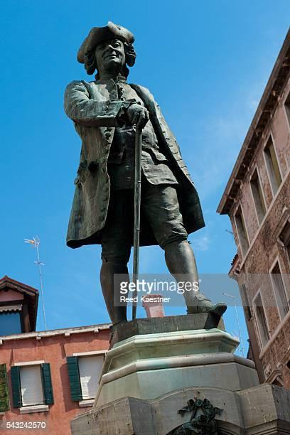 Carlo Goldoni Statue Venice, Italy