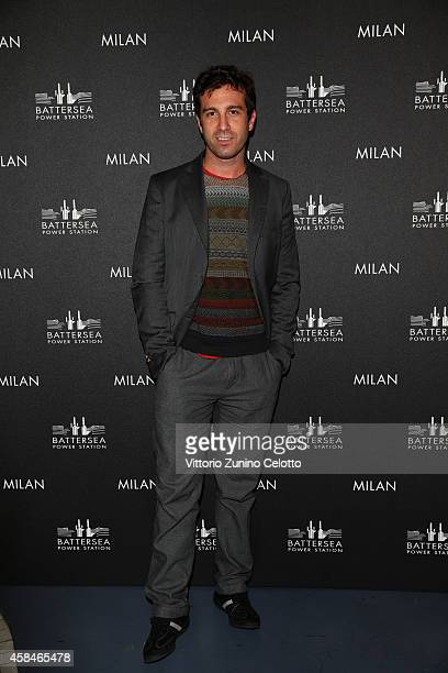 Carlo Mazzoni attends the Battersea Power Station launch party to celebrate the launch of its Global Tour at Magna Pars Suites on November 5 2014 in...