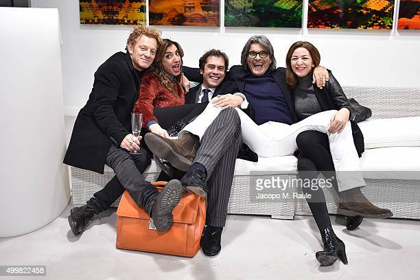 Carlo Mondonico Margherita Zanatta Raffaello Tonon and Roberto Alessi attend the book presentation of 'L'AMORE FORSE' by Barbara Fabbroni on December...