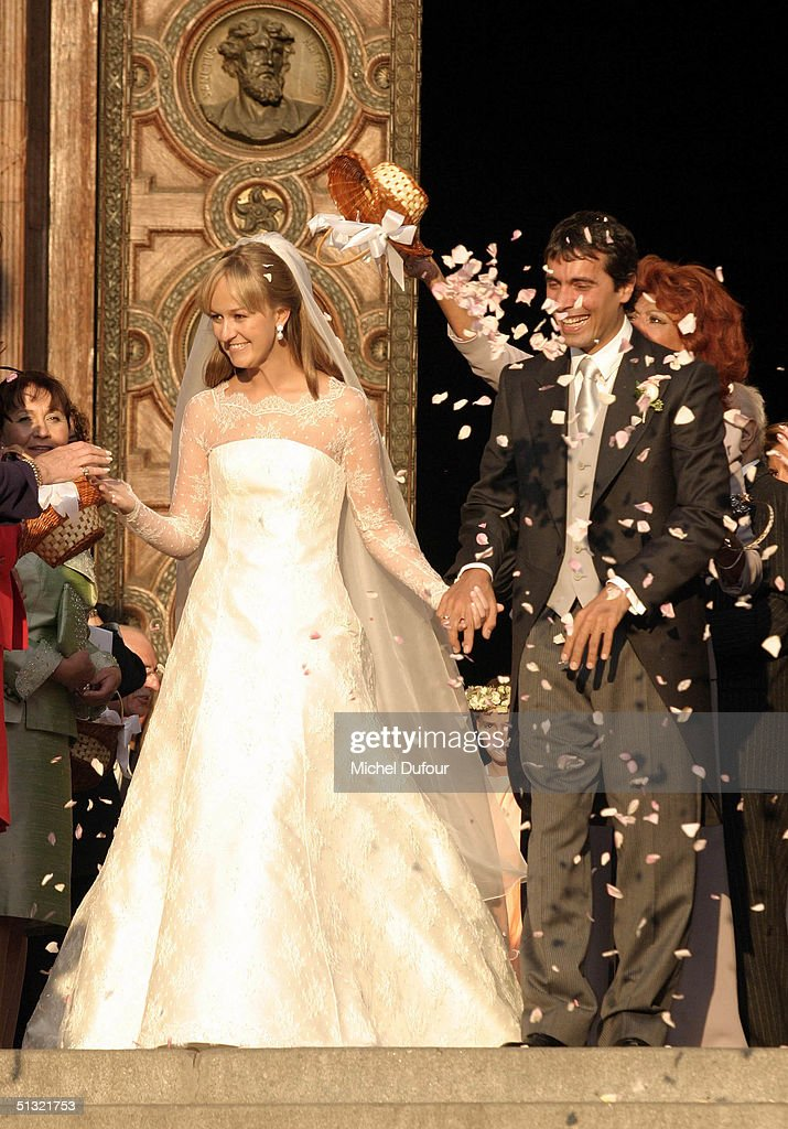 Carlo Ponti Jr Weds In St. Stephen's Basilica : News Photo